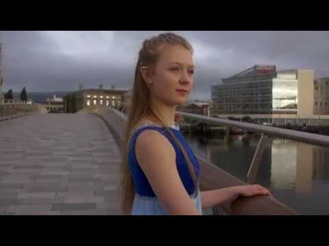 Dena    -  Ballet on Lagan Weir Footbridge