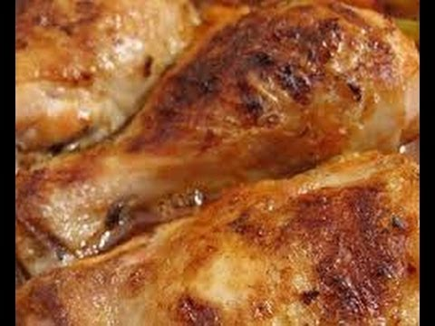 Ricetta Pollo Con Patate Al Forno Youtube