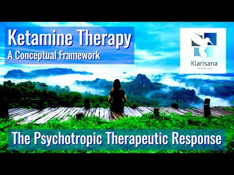 Ketamine for depression - The Psychotropic Therapeutic Response - Klarisana