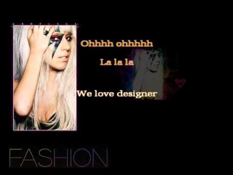 Lady GaGa - Fashion [Instrumental Karaoke]