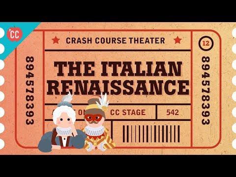 Pee Jokes, the Italian Renaissance, Commedia Dell'Arte: Crash Course Theater #12