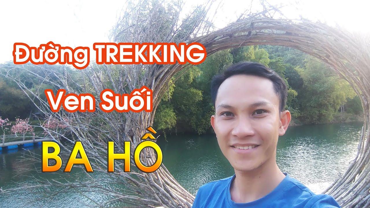 Du Lịch Sinh Thái Ba Hồ 2020 #1 | Khám Phá Con Đường Trekking Ven Suối | Ba Ho Waterfalls