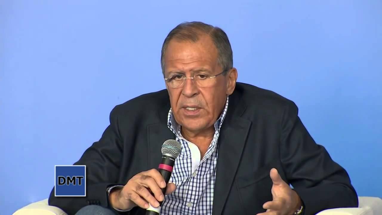 Лавров Сергей   Россия не торгует своим статусом и суверенитетом