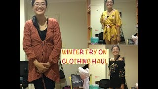 WINTER TRY ON CLOTHING HAUL 2