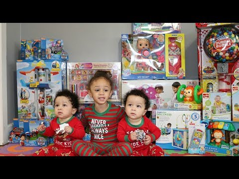 Christmas Morning 2017 Opening Presents With Imani's Fun World And Family