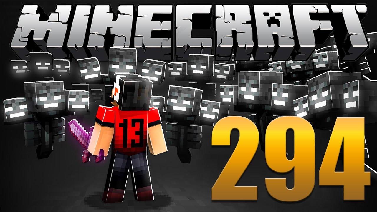 Matando 1.000 WITHER BOSSES na ESPADA - Minecraft Em busca da casa automática #294