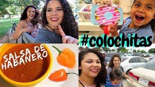 Cómo hacer la salsa de habaneros 🔥   Un lindo día con amigas ! -Vlog