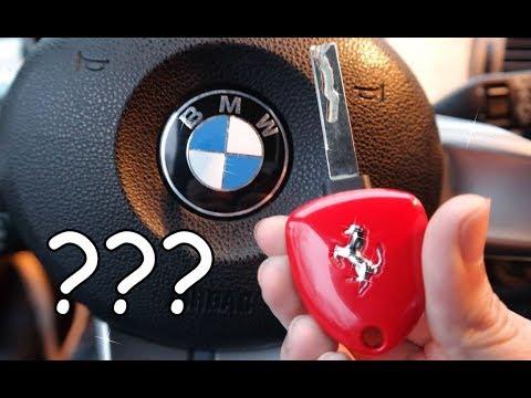 A Ferrari Key For Bmw Ferbimmer Keys Youtube