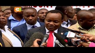 Mbunge wa Nyeri mjini aomba JSC imfute kazi Jaji Maraga