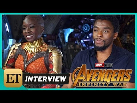 Download Youtube: 'Avengers: Infinity War': Chadwick Boseman and Danai Gurira (FULL INTERVIEW)