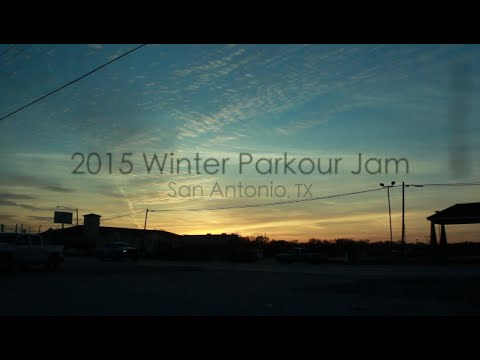 2015 Winter Parkour Jam San Antonio, TX