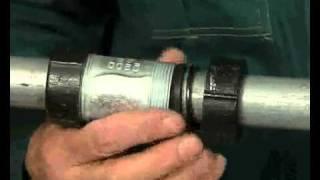 видео Американки для полипропиленовых труб: характеристикой, типы, материалы, инструкция по установке, применение