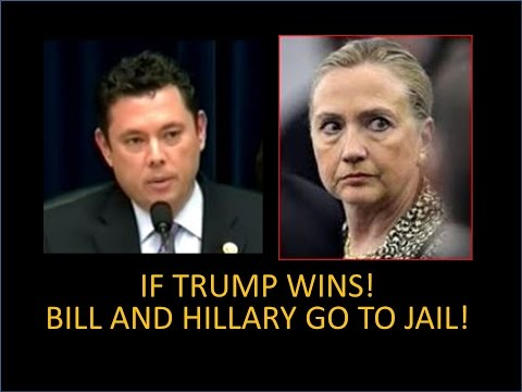 If Trumps Wins, Hillary and Bill Clinton Go To Jail!