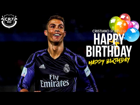 Cristiano Ronaldo - Happy Birtay 32