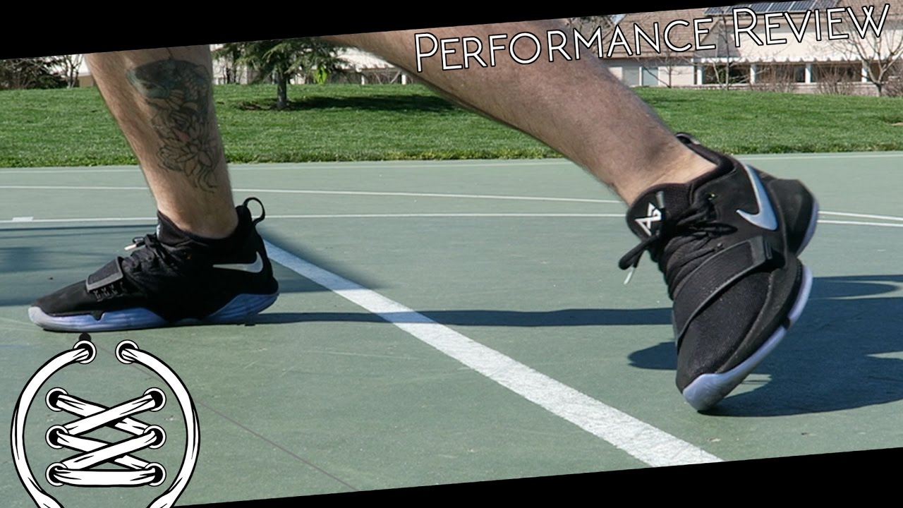 42bf7a6b5cf Nike PG1 Performance Review - YouTube