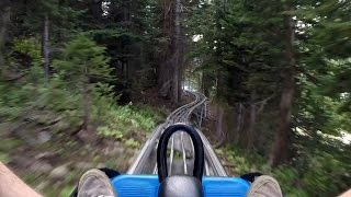 Mountain Coaster - Snowbird Ski & Summer Resort (HD POV)