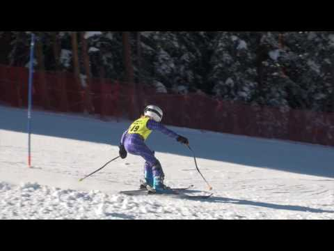 Lake County Middle School Slalom races at Copper Mountain, CO