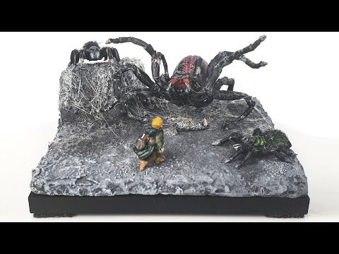 Shelob/ Spiders Of Cirith Ungol | The Lord Of The Rings | Diorama