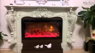 Poliüretan Şömine Dekoratif Şömineler Sahte ateş görünümlü şömine