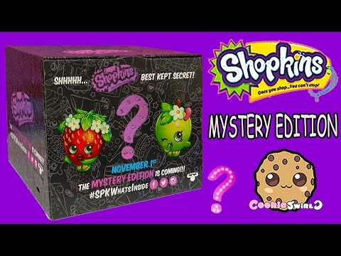 Shopkins Mystery Edition Target Box Toy Play Video Cookieswirlc Part 1