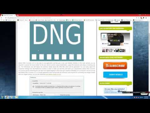How to download adobe DNG converter Adobe DNG Converter 10 2 new 2018