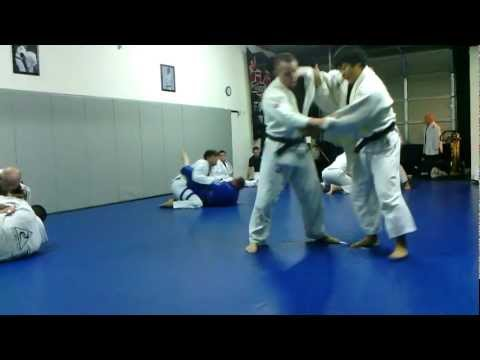 Judo throwdown at Steve Hall 's Fight To Win BJJ and Judo