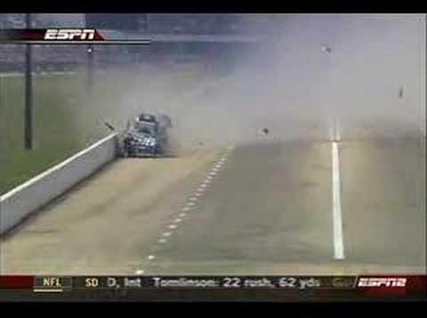 John Force and Kenny Bernstein Dallas Crash 2007