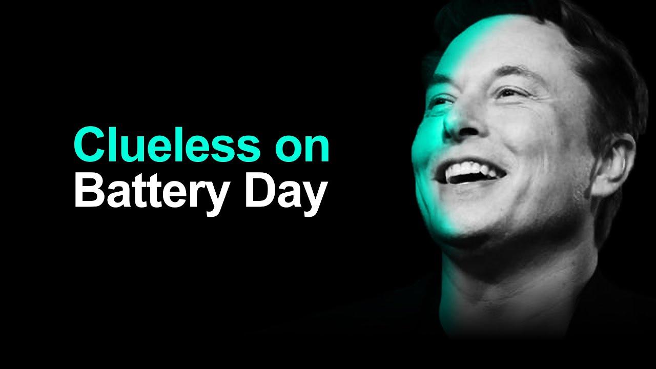 Tesla Battery Day: Stock Market Reaction (CLUELESS)