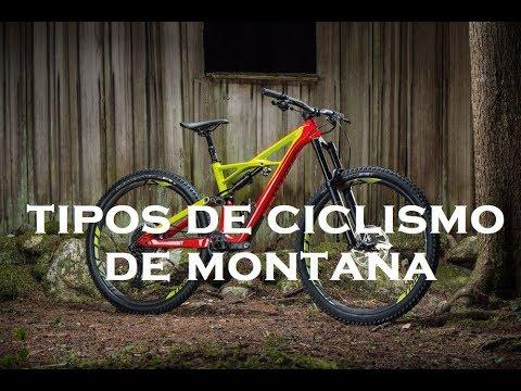 Tipos de Ciclismo de Monta�a