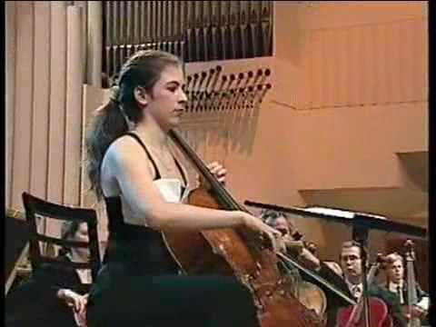 Inbal Segev - Lutoslawski Cello Concerto (1st excerpt)