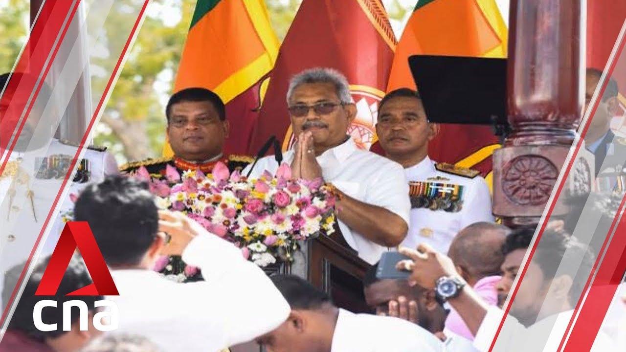 Gotabaya Rajapaksa sworn in as Sri Lanka's President
