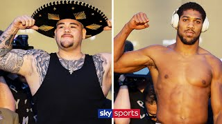 ANDY RUIZ JR VS ANTHONY JOSHUA 2 | LIVE WEIGH-IN