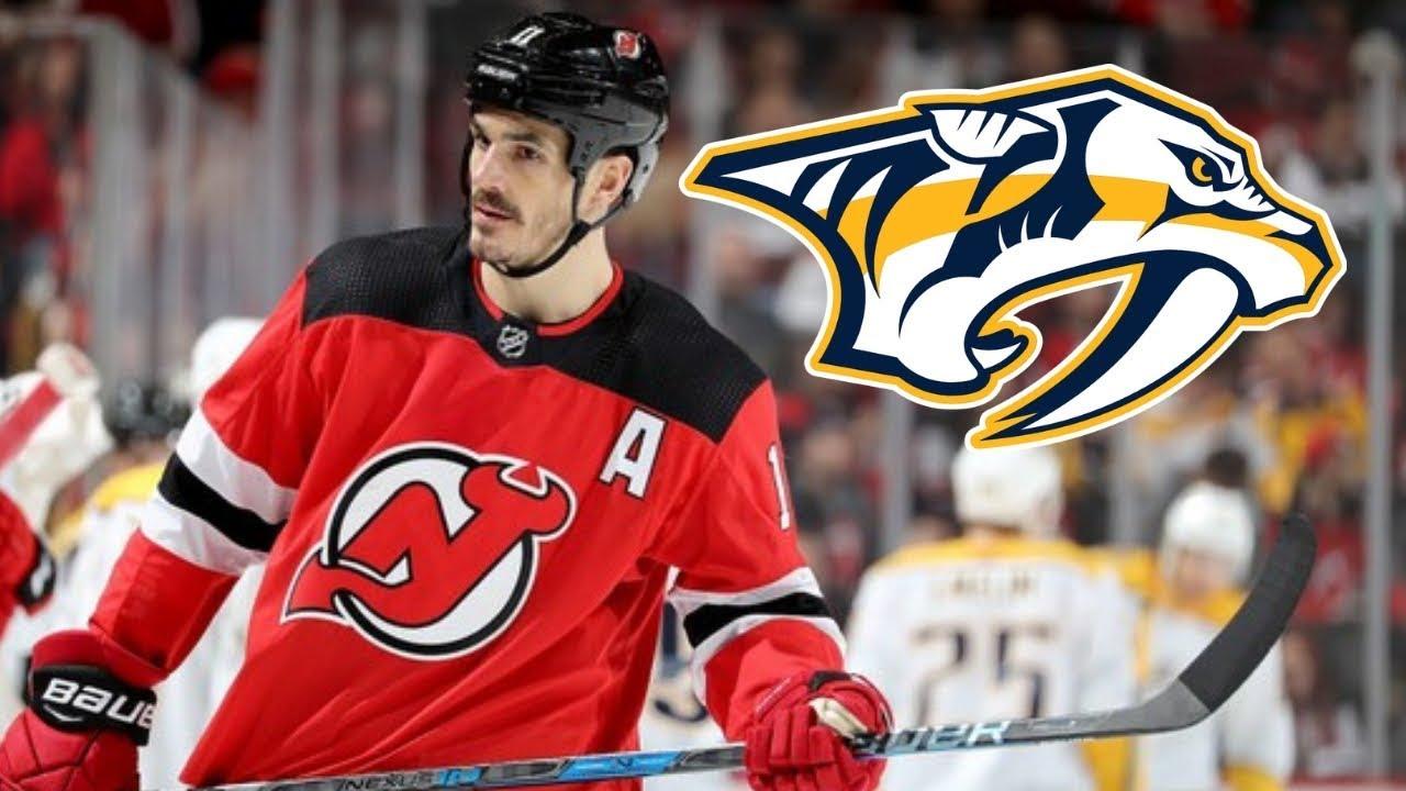 3ff02184232 Predators acquire Brian Boyle from Devils for 2nd round pick - YouTube