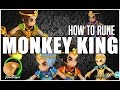 SUMMONERS WAR : How to Rune MONKEY KING (Xing Zhe, Mei Hou Wang, Shi Hou, etc)
