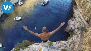 Marseille: Klippenspringen aus 30 Metern