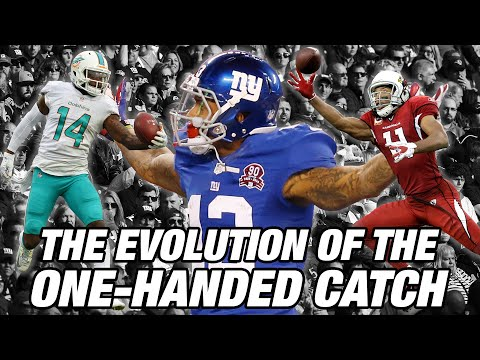 The Evolution of the One-Handed Catch | NFL Films Presents