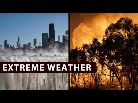 Extreme weather conditions around the globe
