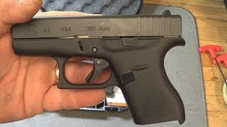 The New Glock 42 .380 Review