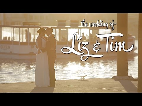 Liz + Tim Wedding Film on the Destiny Yacht in Newport Harbor