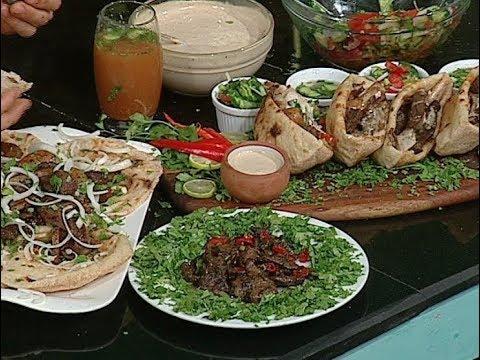 طريقه عمل سندوتش سمين وكبده ومخ من الشيف محمد حامد حلقه المطعم