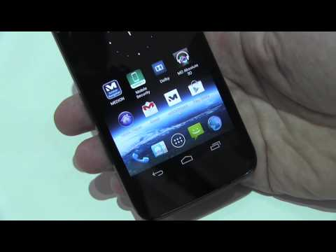 Medion X4701 - High-End-Smartphone mit Tegra 3 Quadcore & 720p-Display - IFA 2013