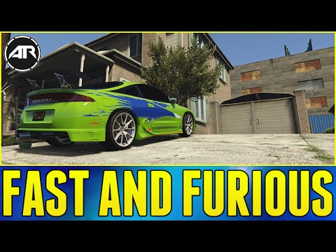 BUILDING THE FAST AND FURIOUS ECLIPSE!!!  - GTA 5 PC Mods