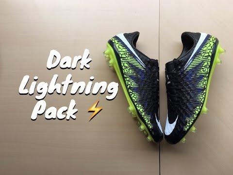 Nike Hypervenom Phinish Dark Lightning Review+On Feet