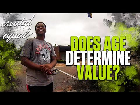 """Does age determine value?"" Amazing response!"