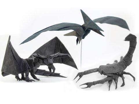 Tadashi Moris Origami Designs Youtube