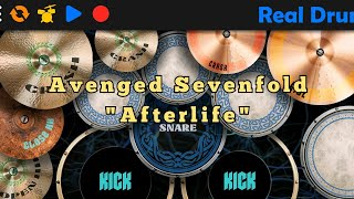 Avenged Sevenfold Afterlife   Real Drum Covert-By Fajri