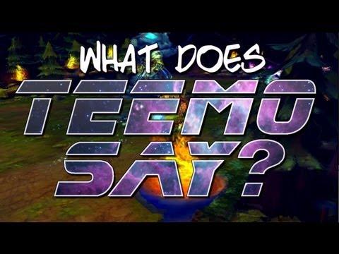 Instalok - What Does Teemo Say? Feat. ROBERTxLEE (Ylvis - The Fox PARODY)Kaynak: YouTube · Süre: 2 dakika59 saniye