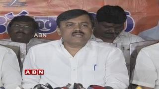 BJP MP GVL Narasimha Rao holds Press Meet | ABN Telugu