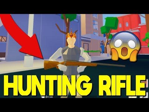 *NEW*HUNTING RIFLE In Strucid... *I HIT A TRICKSHOT*