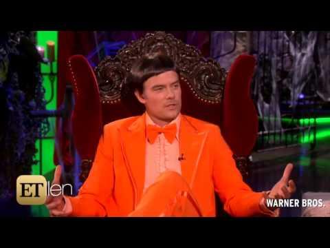 Ellen DeGeneres Scares the Crap Out of Josh Duhamel for Halloween
